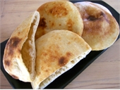 Pita Bread for Greek Souvlaki