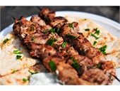The Famous Greek Souvlaki ( Skewers & Pita )