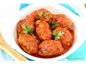 Spicy Meatballs from Smyrni ( Authentic Recipe )