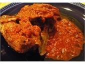 Coq Au Vin - Rooster Boiled in Wine (aka Kokoras Krasatos)