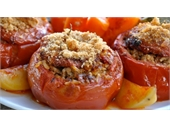 Greek Yemista ( Stuffed Vegetables)