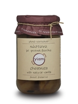 Yiam Chestnut Preserve with Natural Vanilla