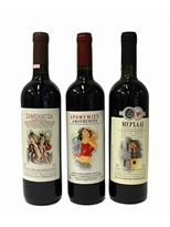Kelesidis Estate Organic Red Wine Combo