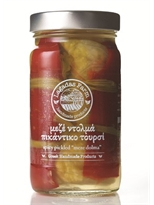 "Lagadas Farm Greek Spicy Pickled  ""Meze Dolma"" in Glass Jar"