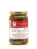Kalypso Greek Green Olives with Olive Oil