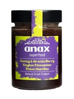 ANAX Superfood Honey with Aronia Berry, Ceylon Cinnamon, Chios Mastiha
