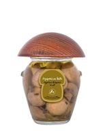 Agaricus Bisporus Mushrooms in Greek Olive Oil
