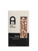 Alfa and Omega Salted Greek Pistachios