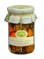 Yiam Pickled Aubergines in Olive Oil