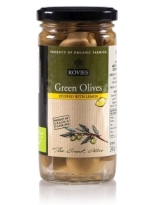 Rovies Organic Green Olives Stuffed with Lemon