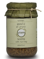 Yiam Lentils with Herring
