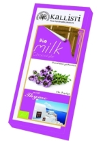 Kallisti Organic Milk Chocolate with Thyme