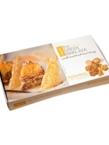 Kolionasios Baklava Individually Wrapped with Honey and Walnuts, 5 pcs