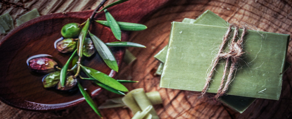 Try our olive oil soaps and your skin will never look more radiant!