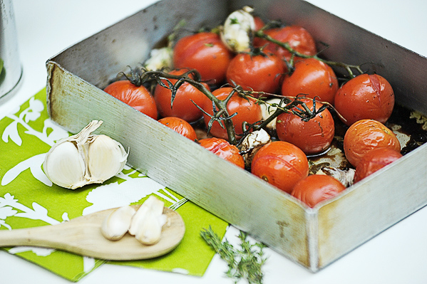 Grilled Cherry Tomatoes